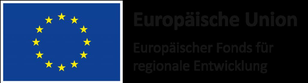 EFRE Logo - Europäischer Fond für regionale Entwicklung