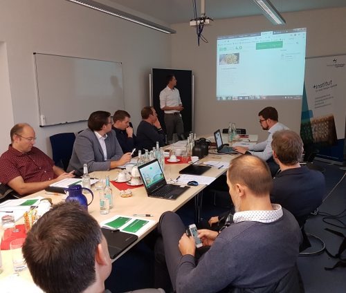 Präsentation Homepage 3. Netzwerktreffen Biogas 4.0