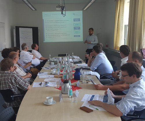 Kick-Off-Meeting Innovationszentrum Biogas 4.0